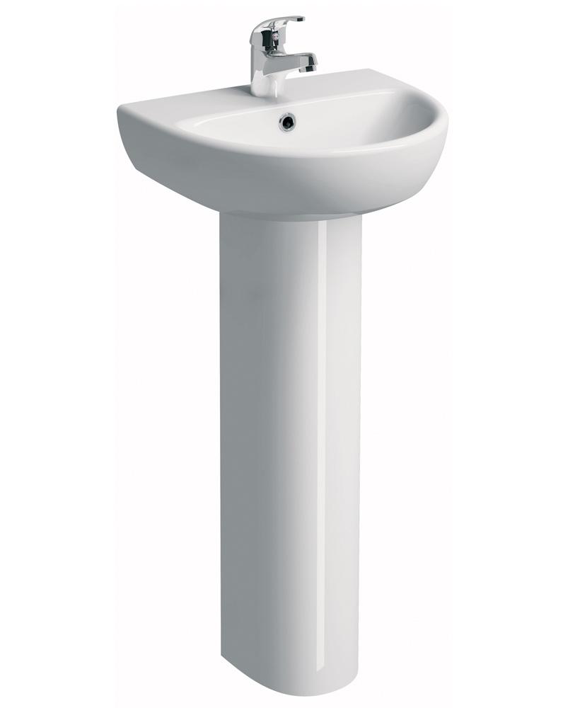 E100 Round 450 Basin & Pedestal