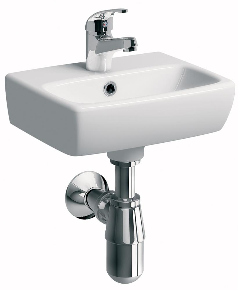 E100 Square 360 Cloakroom  basin