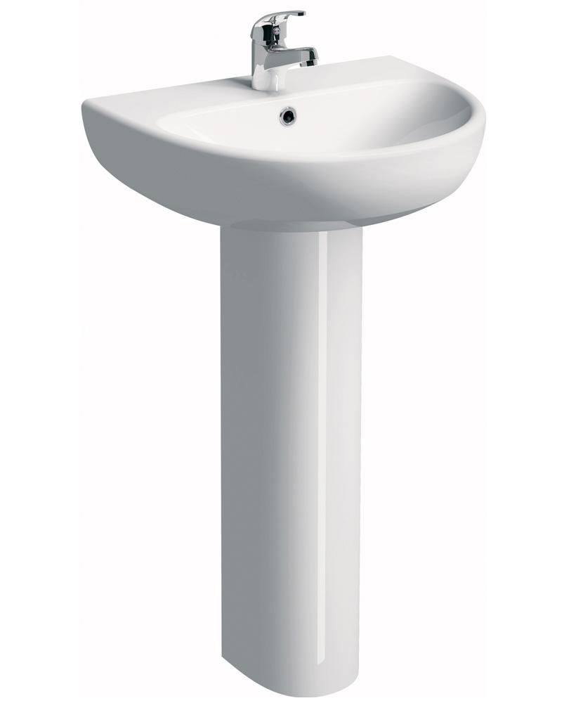 E100 Round 600 Basin & Pedestal