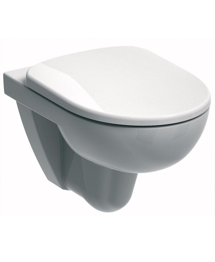E100 Round Wall Hung Toilet & Soft Close Seat