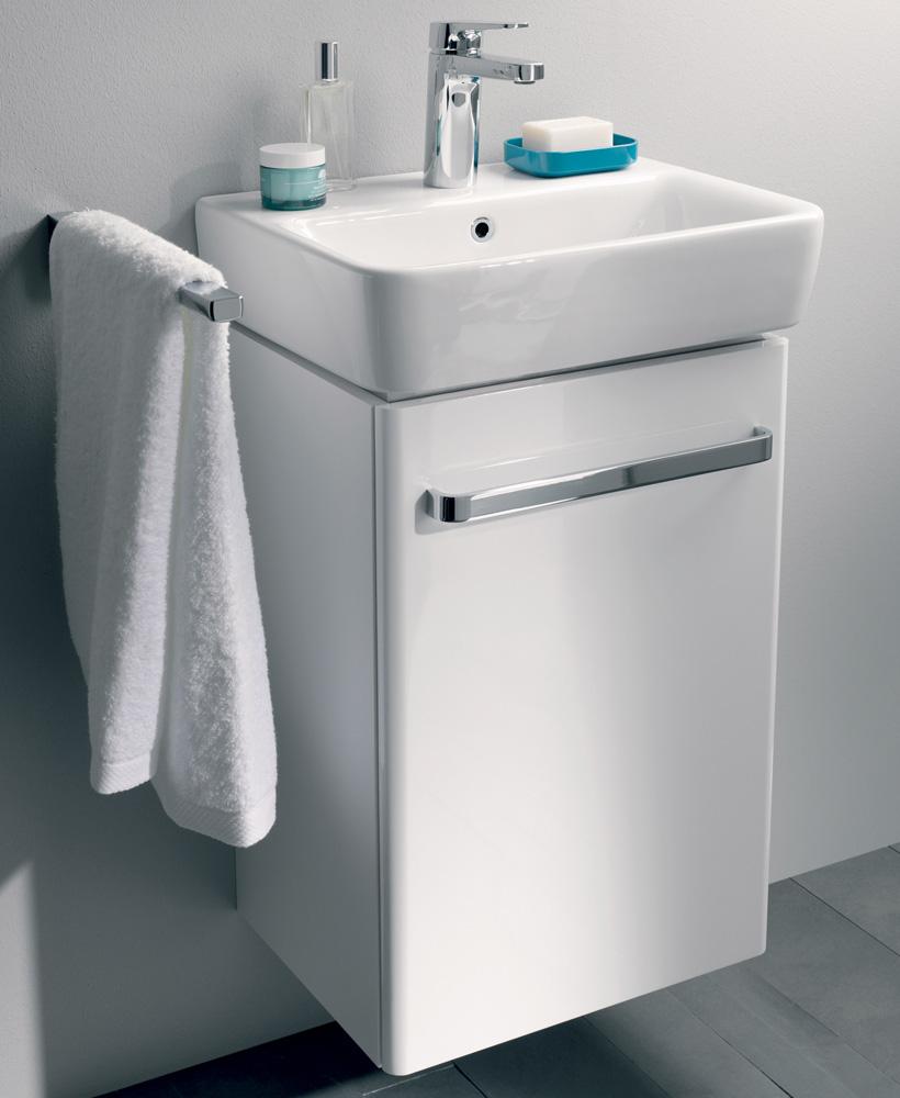 E200 550 White Vanity Unit Wall Hung
