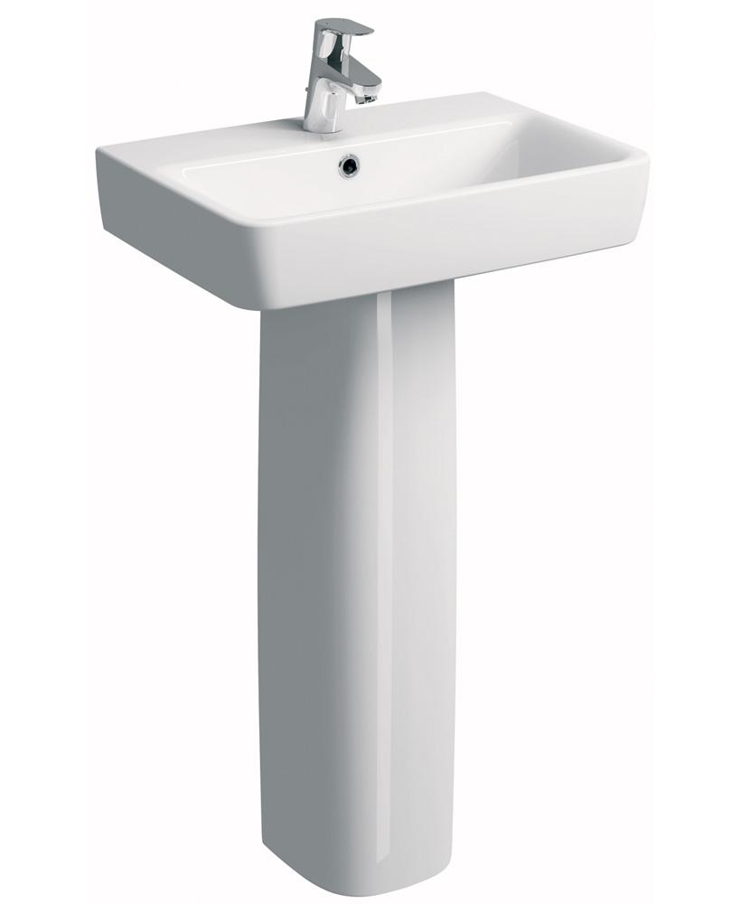 E200  600 Basin & Pedestal