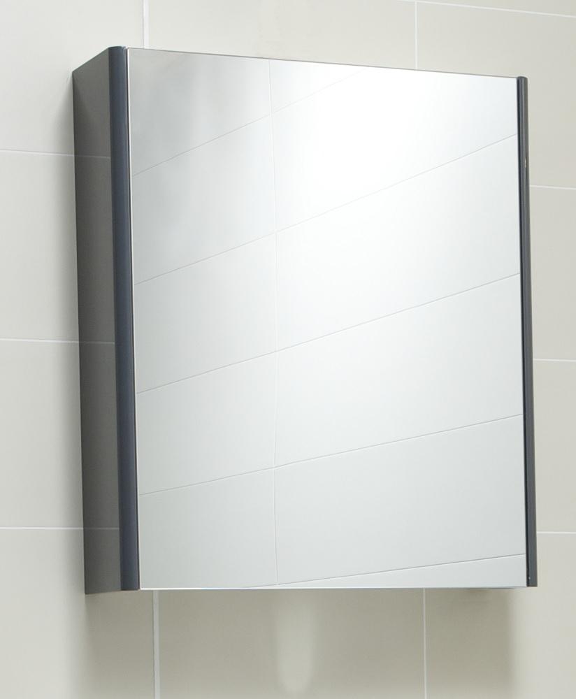 Ella 60 Mirror Cabinet Anthracite