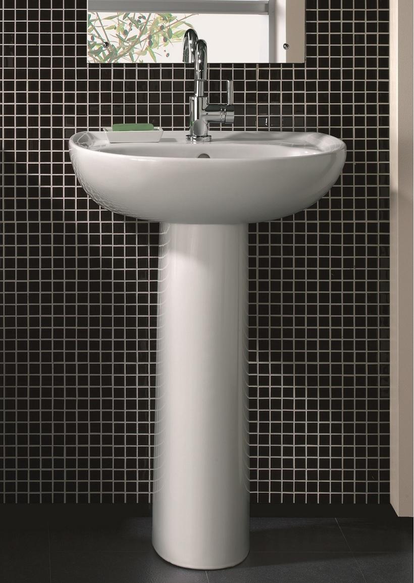 Twyford Galerie Basin 55cm & Pedestal (1TH)