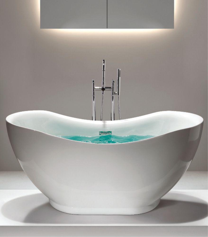 Hilton Freestanding Bath  L 1700  W 790  H 700