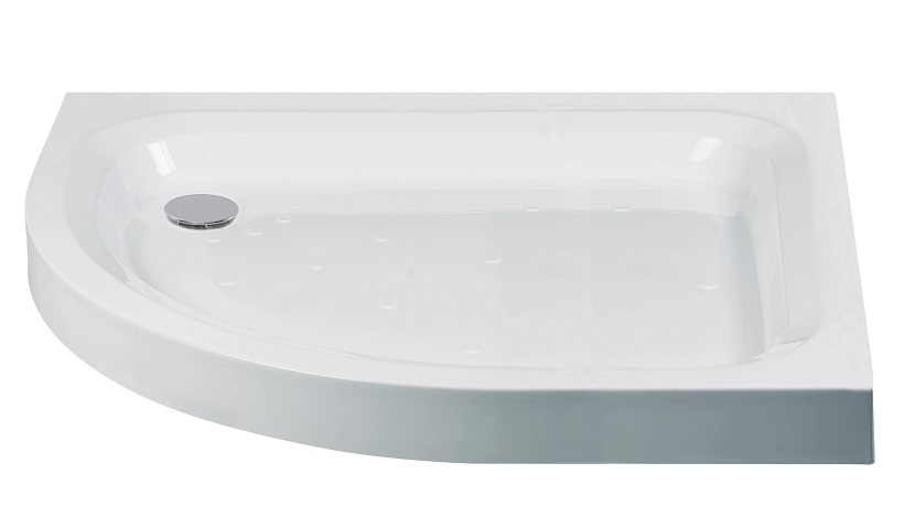 JT Ultracast 1200x900 Offset Quadrant Shower Tray LH
