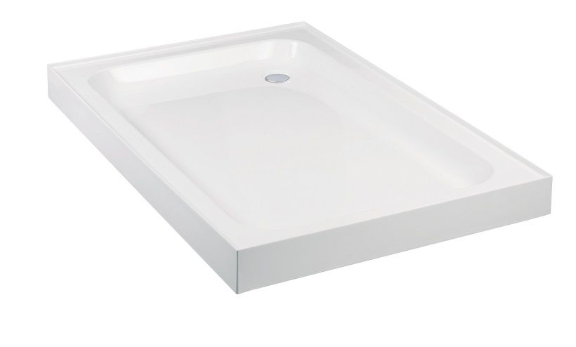 JT Ultracast 1100x800 Rectangle 4 Upstand Shower Tray