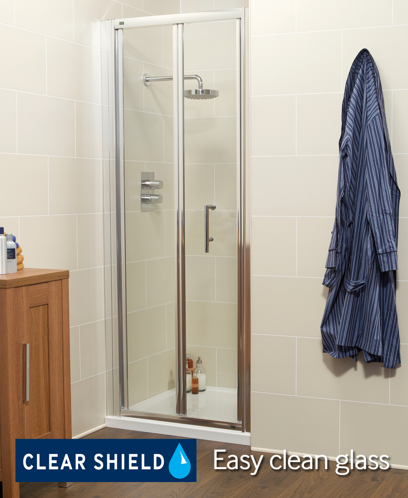 K2 800 BiFold Shower Door - Adjustment 740 -800mm