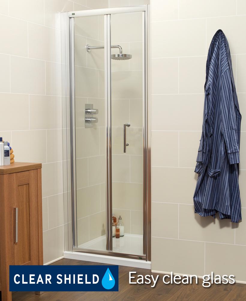 K2 900 Bifold Shower Door - Adjustment 860 -920mm