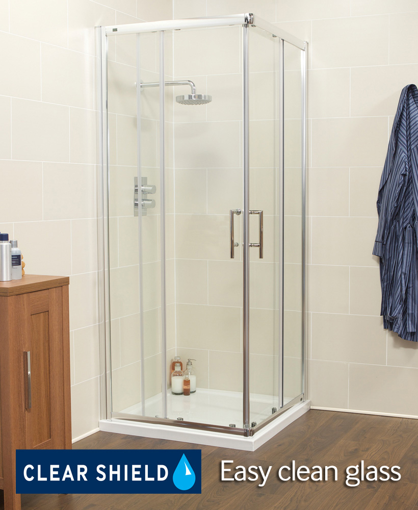 K2 900 Corner Entry Shower Enclosure