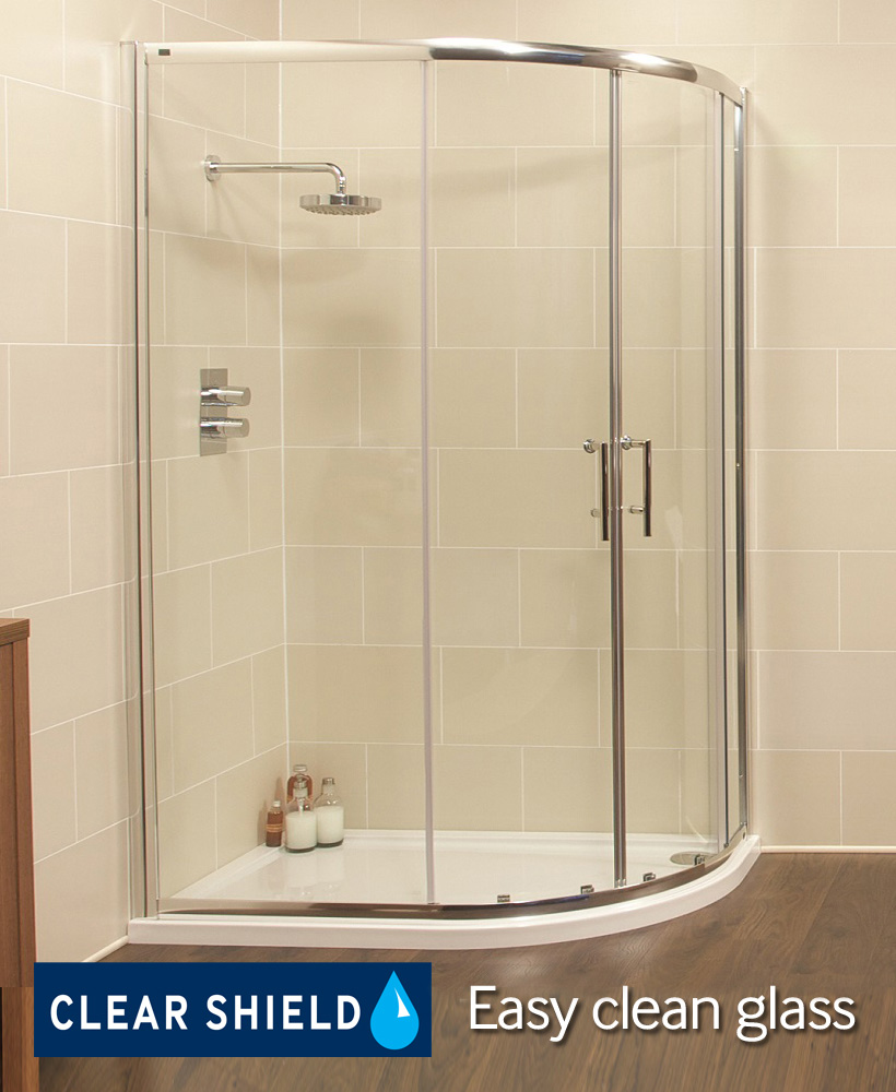 K2 1000x800 Offset Quadrant Shower Enclosure