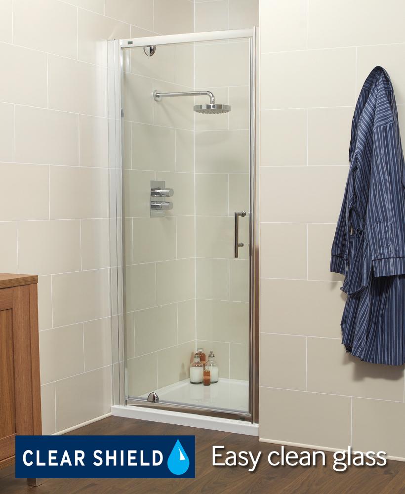 K2 900 Pivot Shower Door - Adjustment 860 -920mm