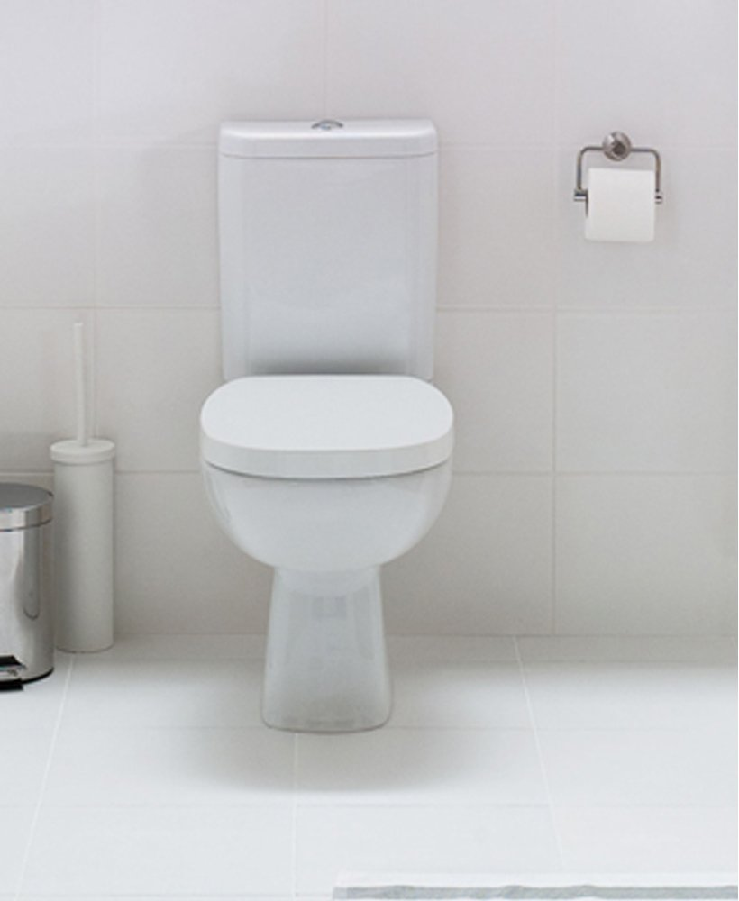 Facile Close Coupled Toilet & Soft Close Seat - Short Projection - 625mm