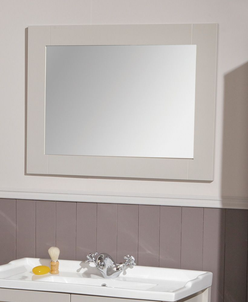 Kingston 80 Stone White Mirror