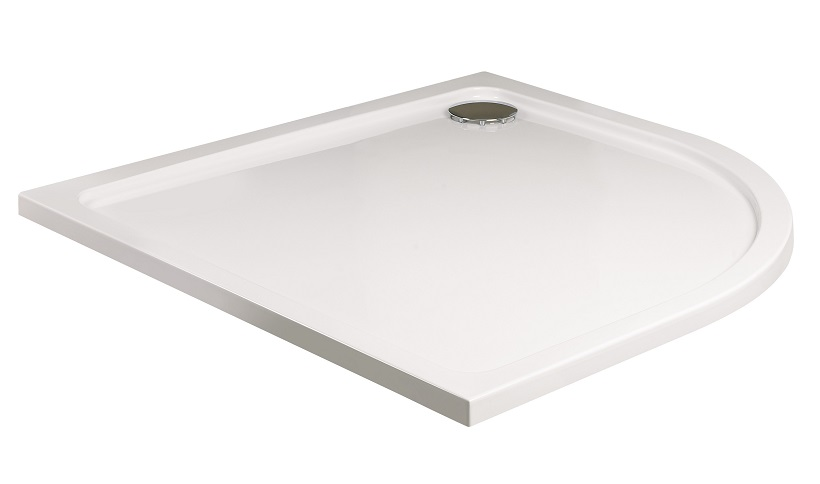 Kristal Low Profile 800 Quadrant Shower Tray with FREE shower waste