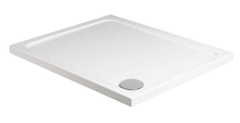 Kristal Low Profile 1000 x 700 Rectangle Shower Tray with FREE shower waste