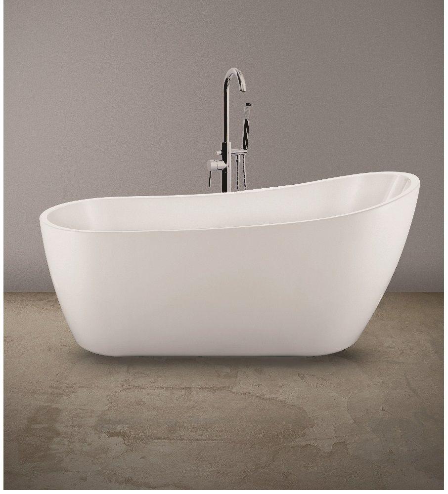 Lily Freestanding Bath - 1665 X 720