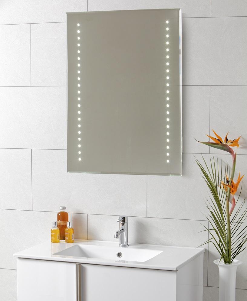 Logic LED Mirror 500 x 700