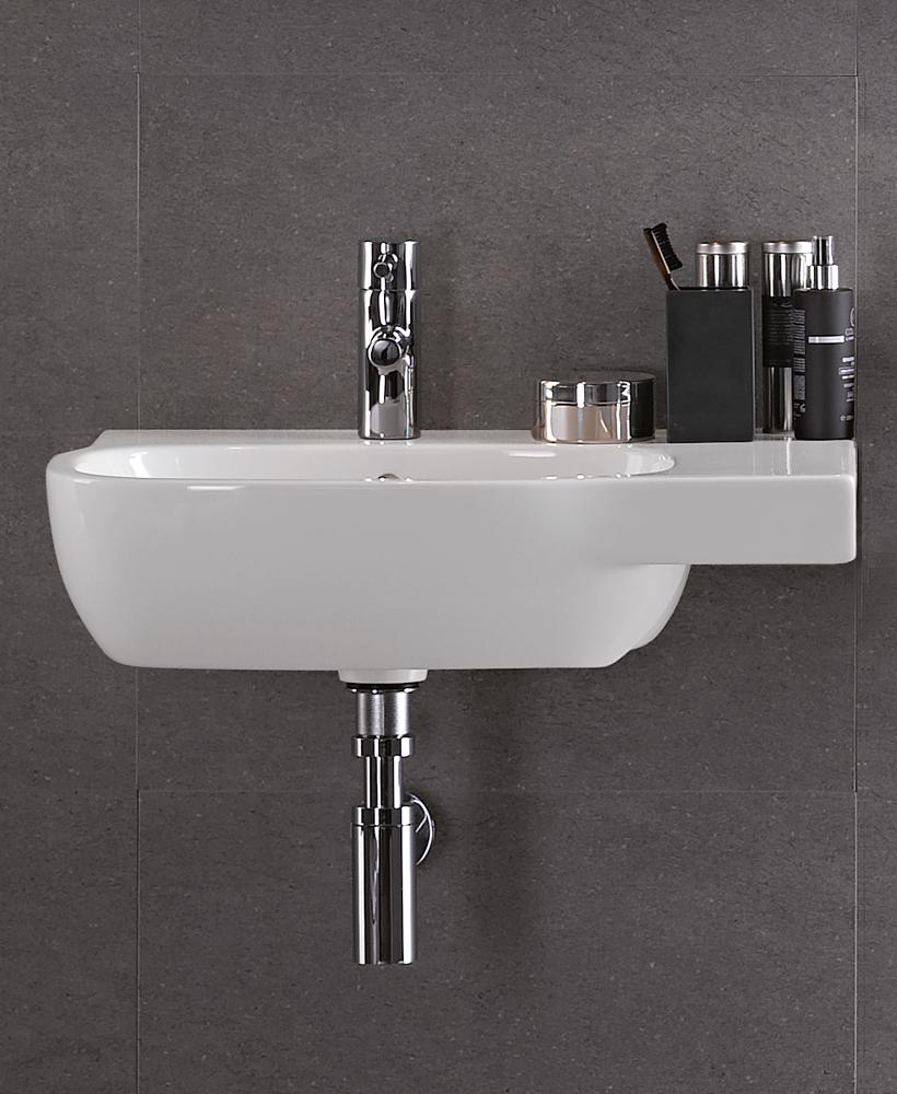 Twyford Moda Basin 65cm with Shelf RH