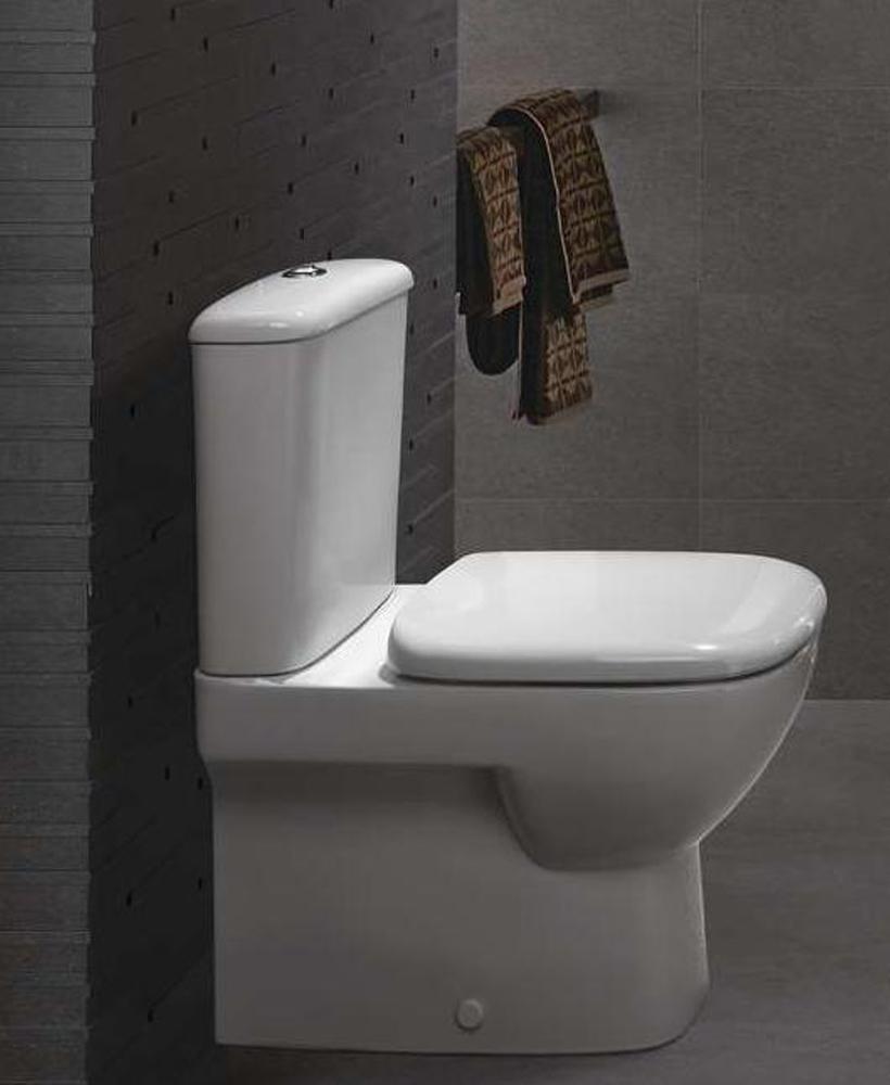 Twyford Moda Fully Shrouded Close Coupled Toilet & Soft Close Seat