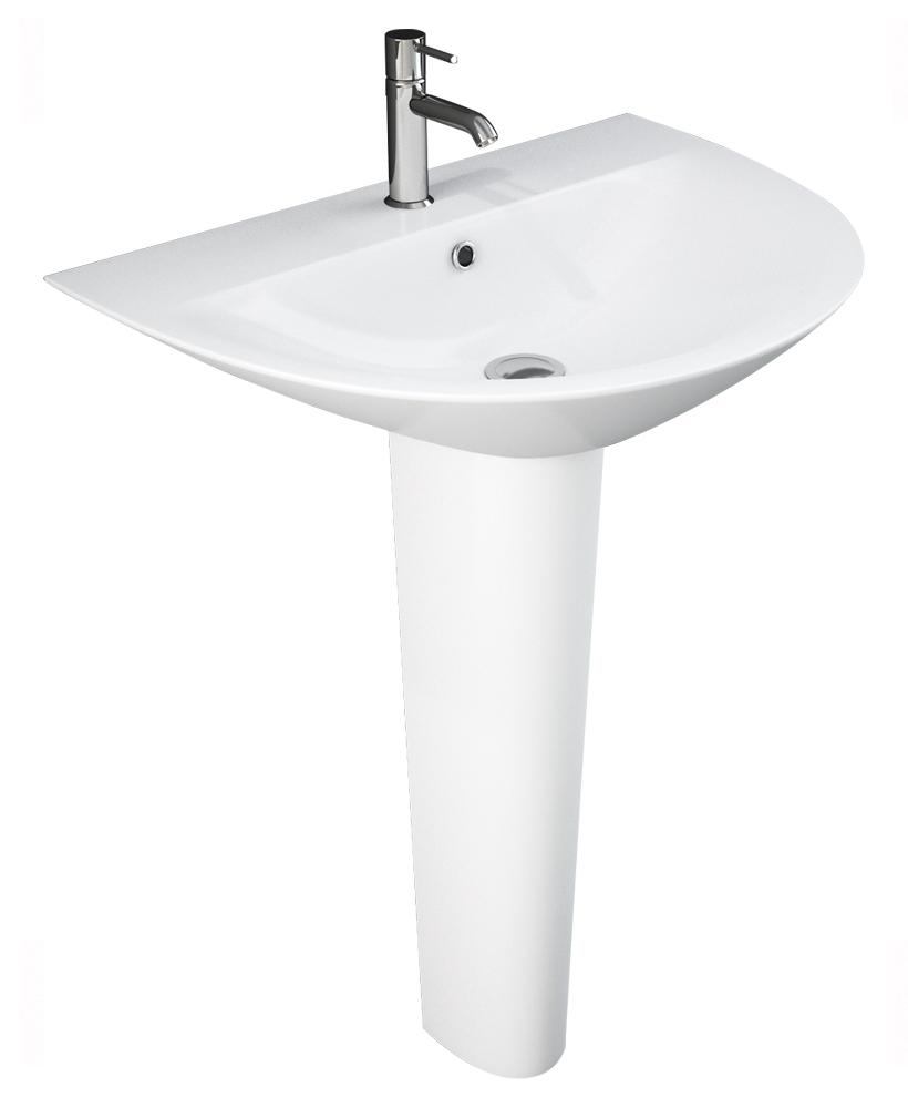 Morning Basin 60cm & Full Pedestal (1TH)