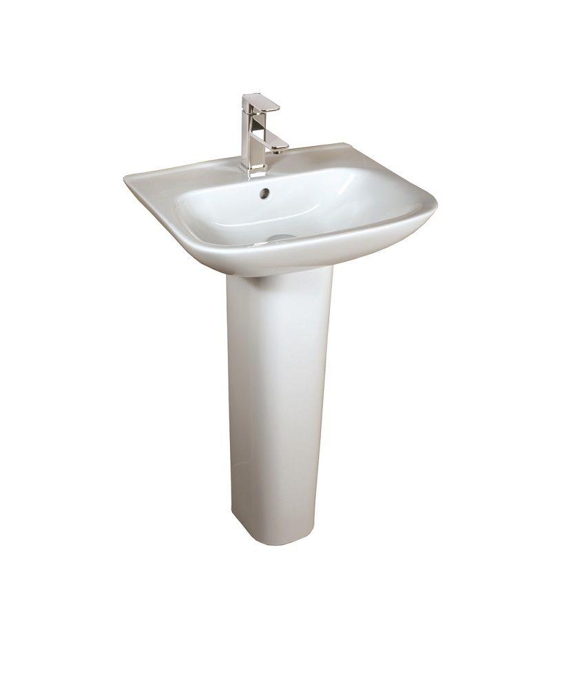 Origin 62 45cm Basin & Pedestal
