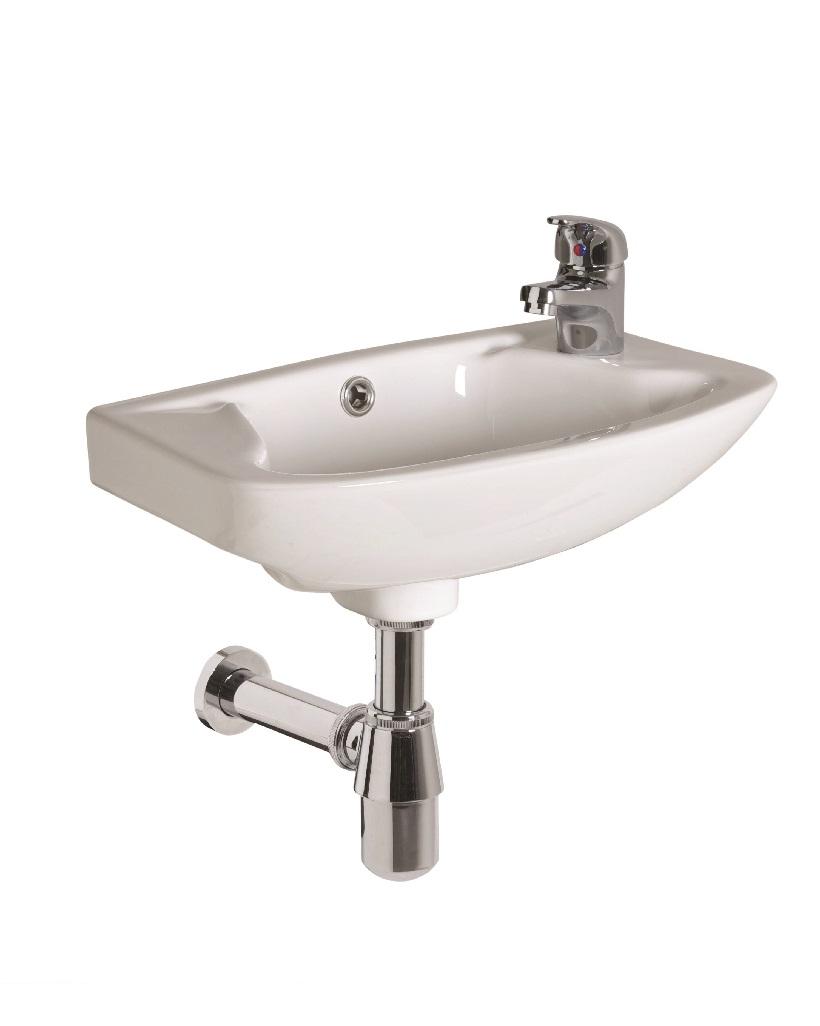 Strata 460 Cloakroom Basin 1TH