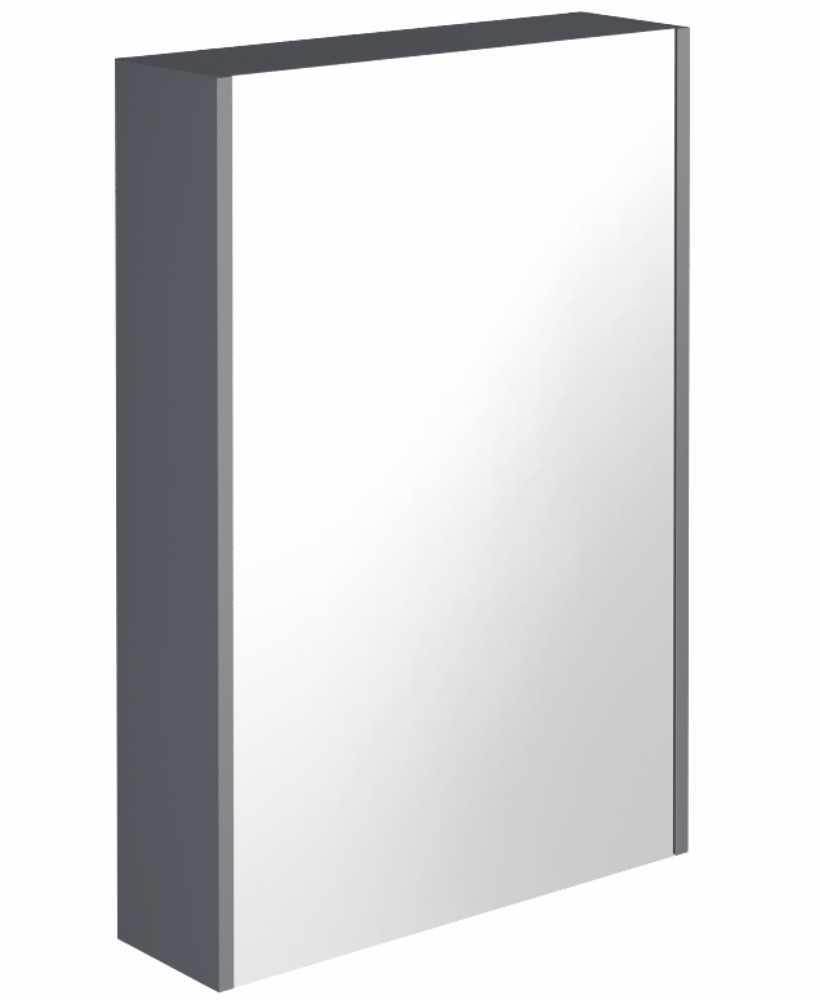 Reflex Anthracite 55 Mirror Cabinet