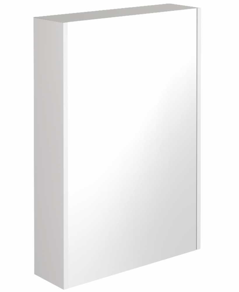 Reflex White 55 Mirror Cabinet