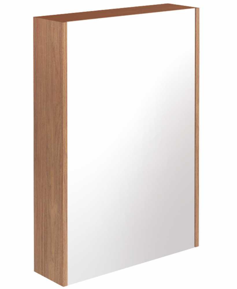 Reflex Walnut 55 Mirror Cabinet