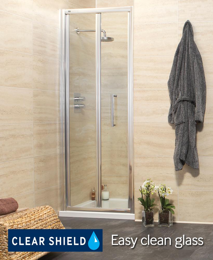 Revive 900 Bifold Shower Door - Adjustment 845-900mm