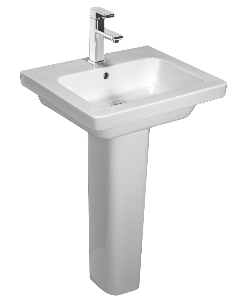 Resort 550 Basin & Extended Height Pedestal
