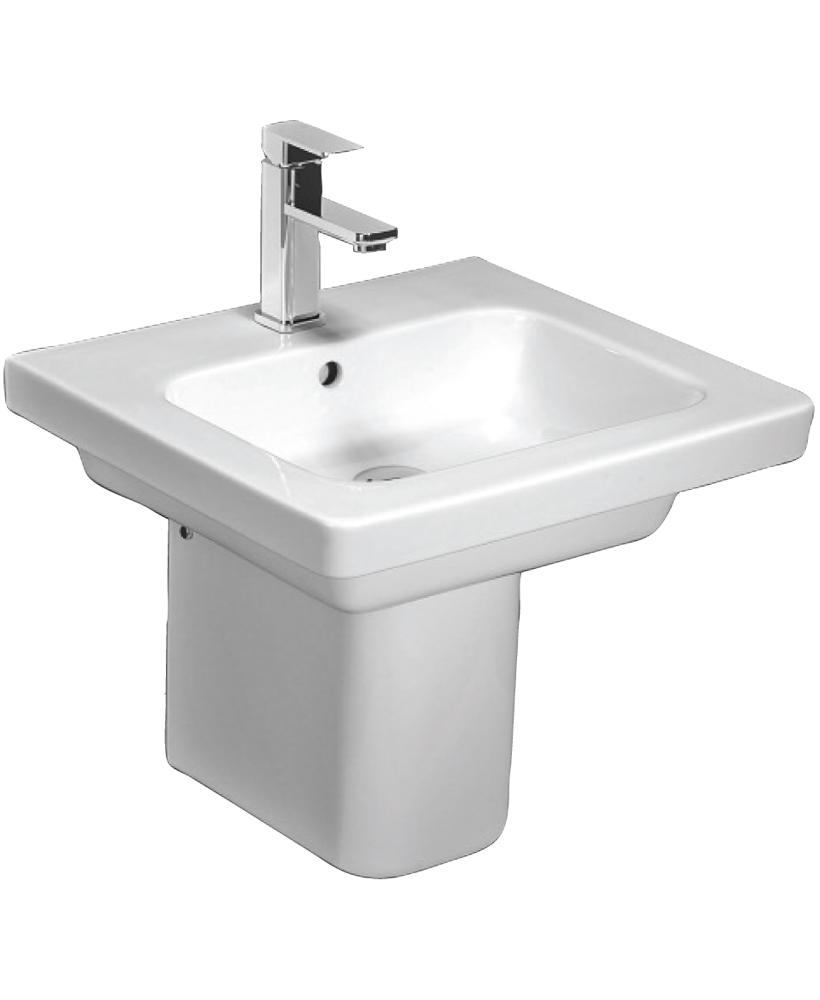 Resort 550 Basin & Semi Pedestal