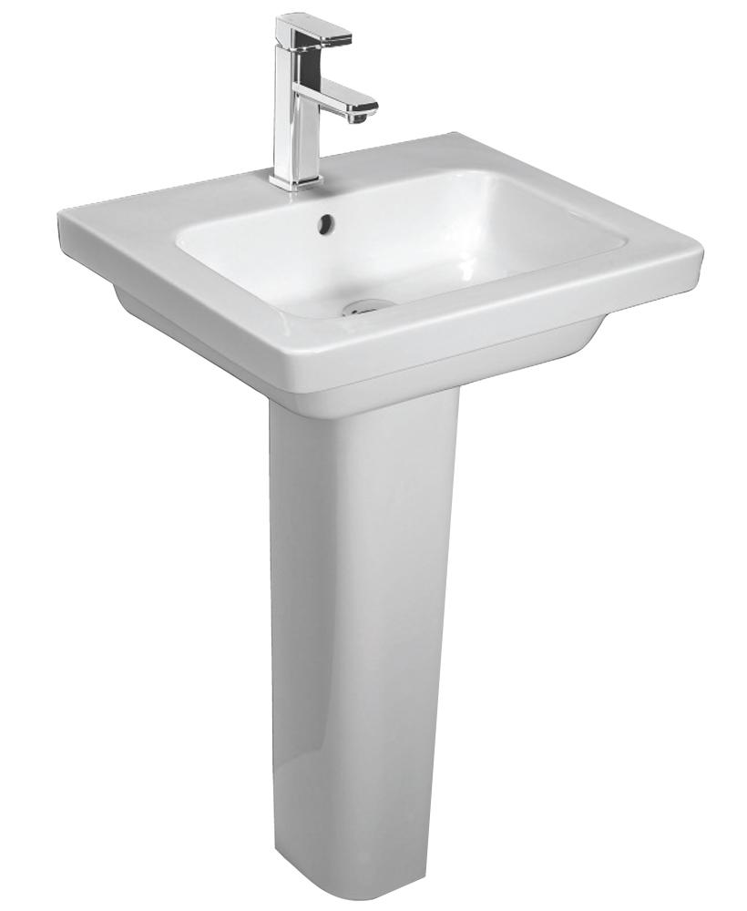 Resort 650 Basin & Standard Height Pedestal
