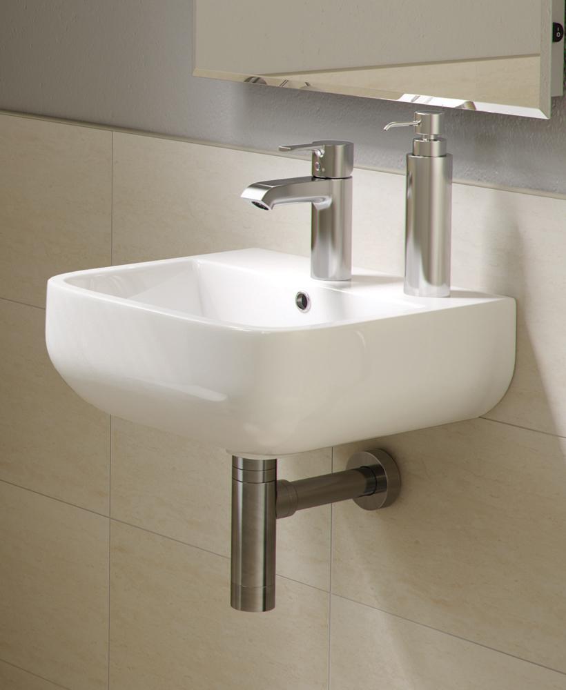 Series 600 Basin 40cm - 1 Tap Hole