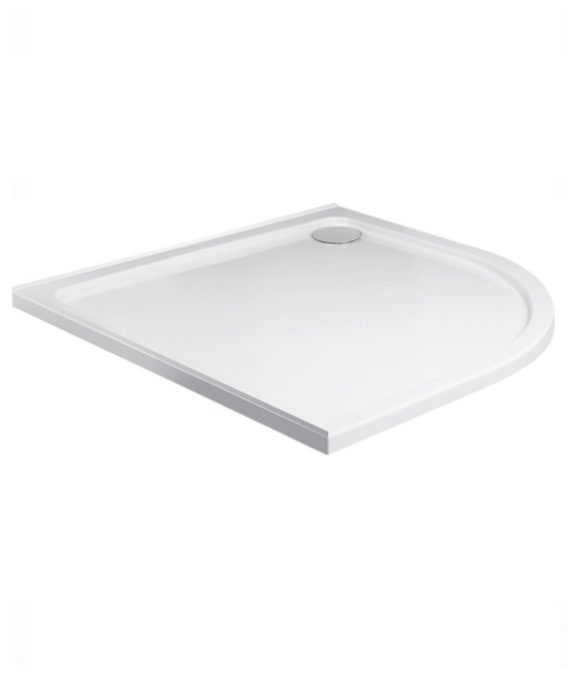 Kristal Low Profile 800 Quadrant Upstand Shower Tray   with FREE shower waste