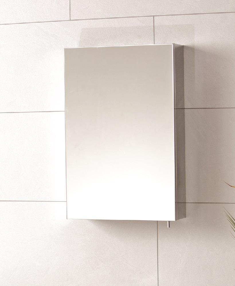 Stilo Single Door Mirror Cabinet 400 x 600