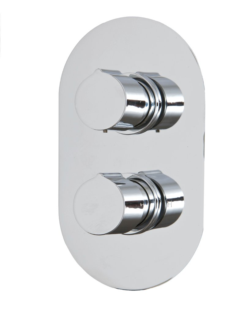 Tristan Thermostatic Shower Valve Oval