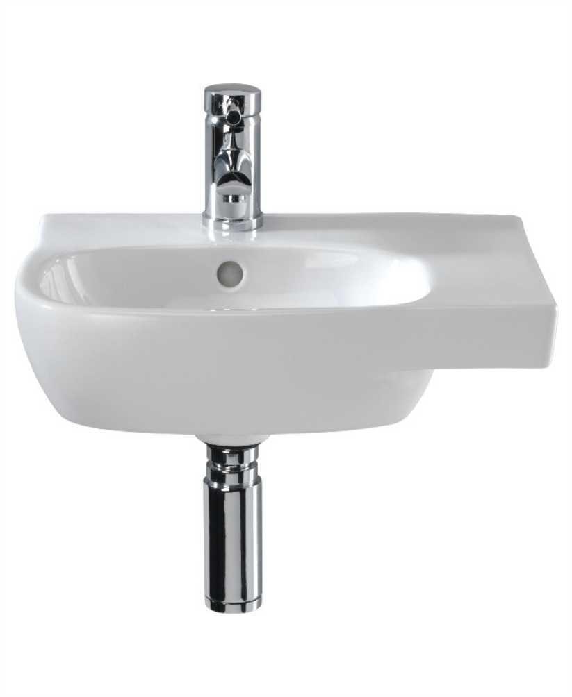 Twyford Moda Basin 45cm with Shelf RH