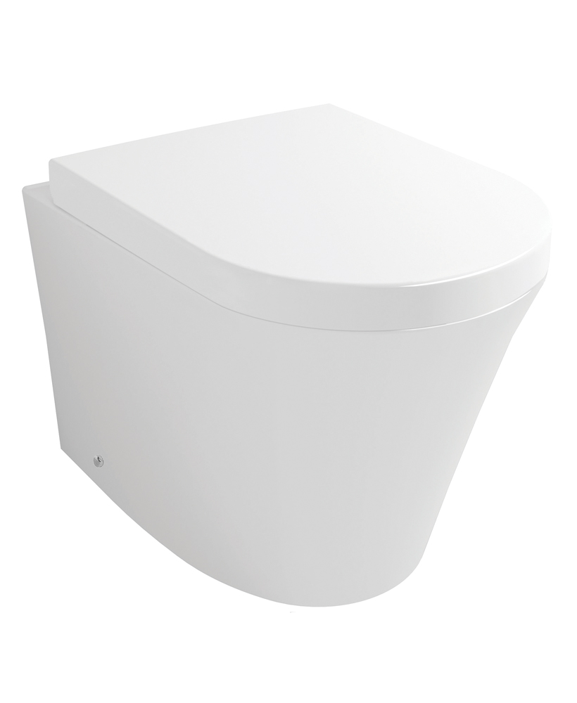 Vision Back to Wall Toilet & Soft Close Seat - *50% Off While Stocks Last