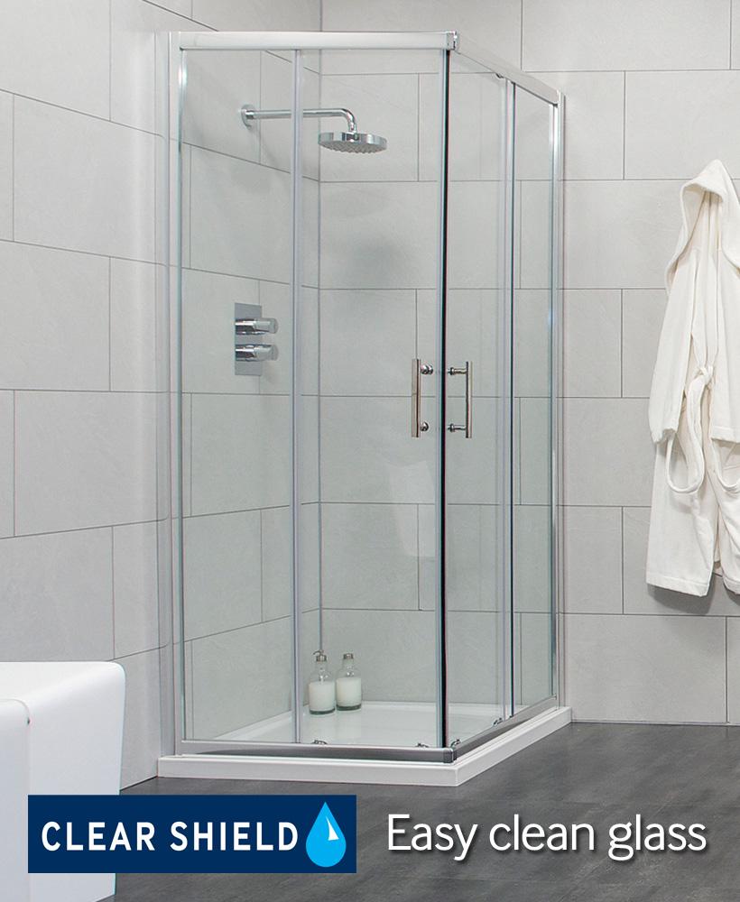 City 800 Corner Entry Shower Enclosure Special Offer