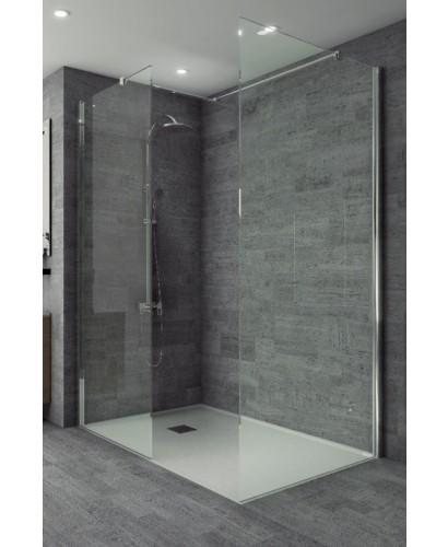 Studio 8mm Wetroom Front Panel 700