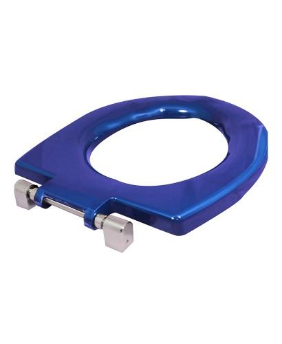 Avalon Seat Ring Blue Top Fix Steel Hinge