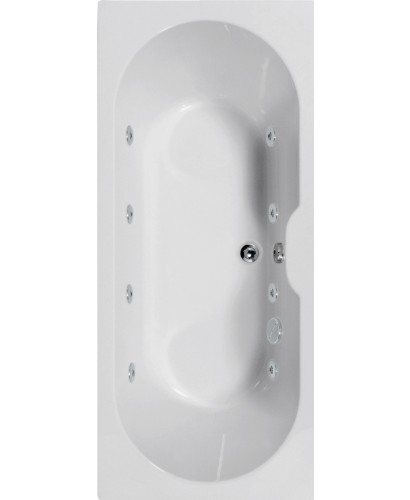 Calisto 1700x700 Double Ended 8 Jet Whirlpool Bath