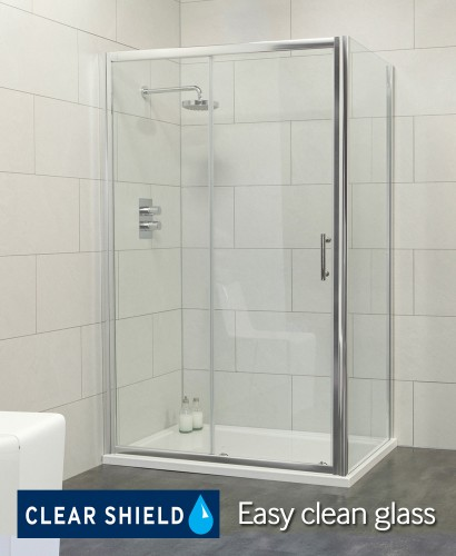 City 1000 Sliding Shower Enclosure