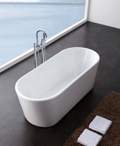 Clarence 1600 x 690 Free Standing Bath