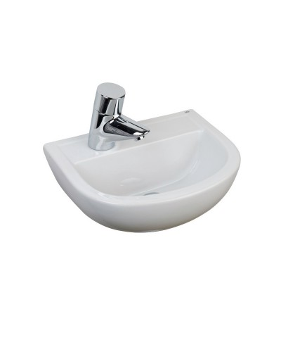Compact Medical 380 Washbasin LH Tap Hole