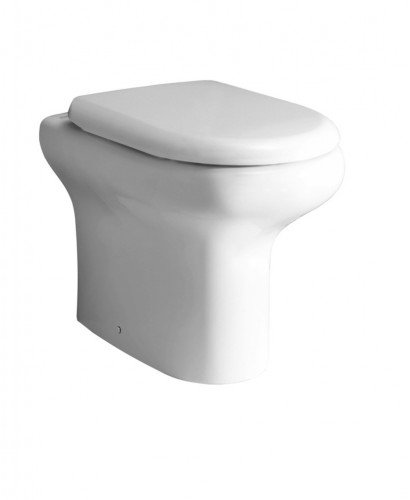 Compact Back to Wall Toilet and Soft Close Seat