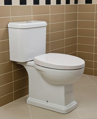 Decor Close Coupled Toilet & Soft Close Seat