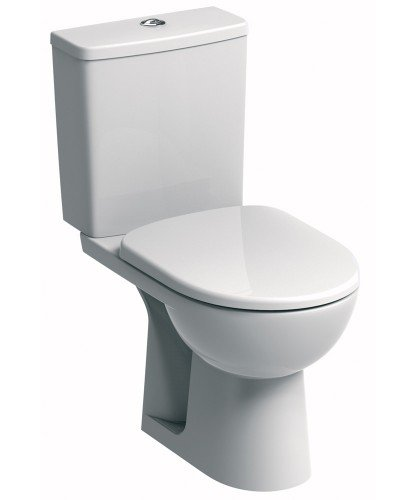 E100 Square Standard Close Coupled Toilet & Standard Seat